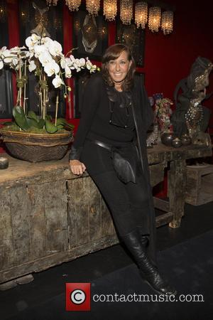 Donna Karan - Donna Karan & Parsons School of Design kick off the holiday season with a cocktail party at...