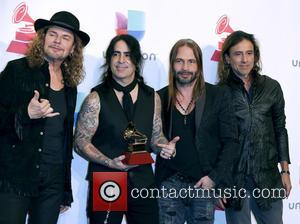 Mana - 2015 Latin Grammy Awards Press Room at MGM Grand Garden Arena at MGM Grand Resort and Casino, Grammy...