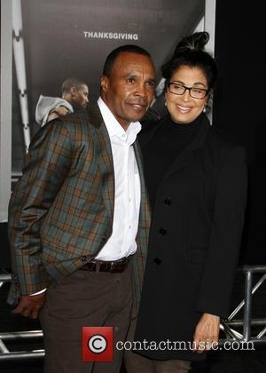 Sugar Ray Leonard - Premiere Of Warner Bros. Pictures'