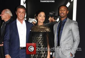 Sylvester Stallone, Jill Marie Jones , Michael B. Jordan - Premiere Of Warner Bros. Pictures'