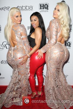 Blac Chyna, Kristina Shannon and Karissa Shannon