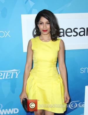 Freida Pinto - WWD And Variety Inaugural Stylemakers' Event at Smashbox Studios - Culver City, California, United States - Thursday...