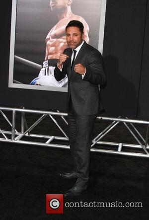 Oscar De La Hoya - Creed Los Angeles Premiere held at the Regency Village Theatre at Regency Village Theatre -...