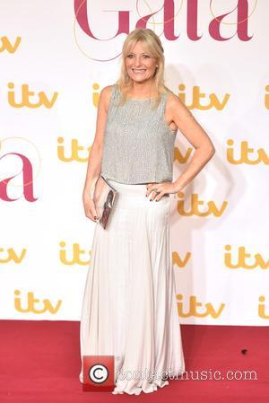 Gaby Rosslin - ITV Gala held at the London Palladium - Arrivals. at London Palladium - London, United Kingdom -...