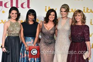 Susanna Reid, Charlotte Hawkins, Kate Garraway, Ranvir Singh , Laura Tobin - ITV Gala held at the London Palladium -...