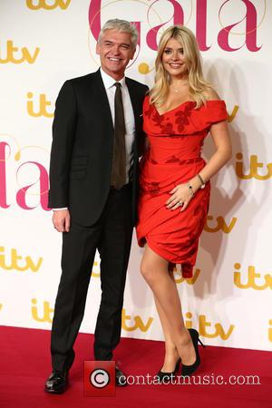 Phillip Schofield , Holly Willoughby - The ITV Gala - Arrivals - London, United Kingdom - Thursday 19th November 2015