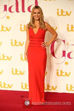 Amanda Holden - The ITV Gala - Arrivals - London, United Kingdom - Thursday 19th November 2015