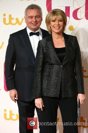 Ruth Langsford , Eamonn Holmes - The ITV Gala - Arrivals - London, United Kingdom - Thursday 19th November 2015