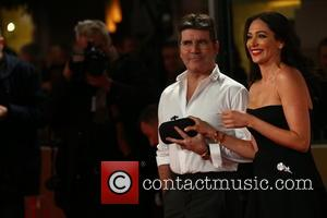 Simon Cowell , Lauren Silverman - The ITV Gala - Arrivals - London, United Kingdom - Thursday 19th November 2015