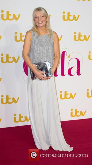Gaby Roslin - The ITV Gala held at the London Palladium - Arrivals at The London Palladium - London, United...