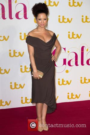 Natalie Gumede - The ITV Gala held at the London Palladium - Arrivals at The London Palladium - London, United...
