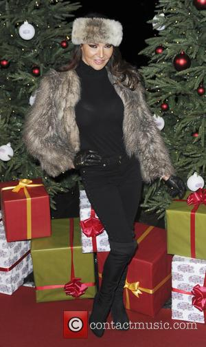 lizzie cundy - various celebrities attend opening of the hyde park winter wonderland - London, United Kingdom - Thursday 19th...