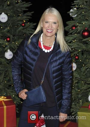Anneka Rice - various celebrities attend the opening of hyde park winter wonderland - London, United Kingdom - Thursday 19th...