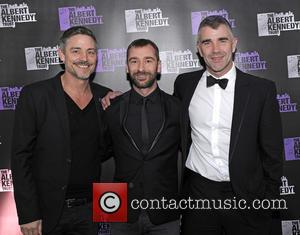 Charlie Condou , Ivan Massow - The annual Albert Kennedy Trust gala dinner at the Grange Tower Bridge Hotel in...