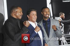 Carl Weathers, Sylvester Stallone , Michael B. Jordan - 'Creed' Los Angeles Premiere - Arrivals - Los Angeles, California, United...