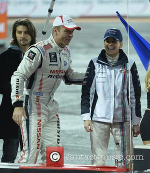 Chris Hoy and Susie Wolff