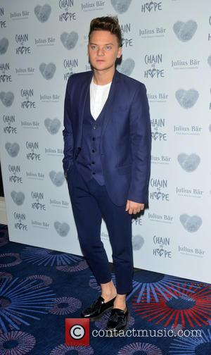Conor Maynard - Chain of Hope Gala Ball to 2015 at Grosvenor House to raise money for children suffering from...