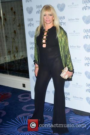 Jo Wood - Chain of Hope Gala Ball to 2015 at Grosvenor House to raise money for children suffering from...