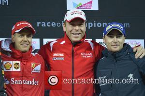 Chris Hoy and Sebastian Vettel