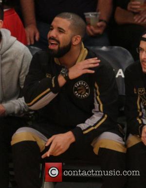 Drake 'Interferes' In Raptors Basketball Game