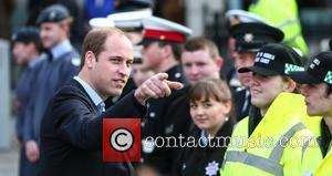 Prince William , Duke of Cambridge - The Duke and Duchess of Cambridge make an official visit to Caernarfon -...