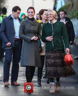 Kate Middleton , Catherine Duchess of Cambridge - The Duke and Duchess of Cambridge visit Denbigh during their trip to...