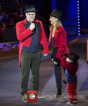 Jim Gaffigan, Jeannie Gaffigan and Children