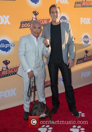 Cesar Millan and Rocky Kanaka