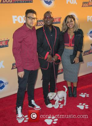 Randy Jackson - The All Star Dog Rescue Celebration held at Barker Hangar - Arrivals at Barker Hangar - Santa...