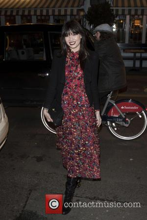 Daisy Lowe - British Fashion Awards nominees dinner at Soho House - Arrivals at British Fashion Awards - London, United...