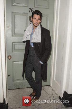 David Gandy - British Fashion Awards nominees dinner at Soho House - Arrivals at British Fashion Awards - London, United...