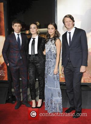 Amber Heard, Eddie Redmayne, Tom Hooper and Alicia Vikander