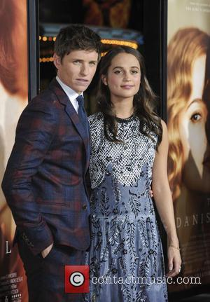 Eddie Redmayne and Alicia Vikander