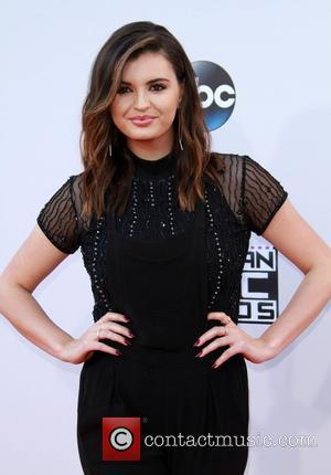 Rebecca Black - American Music Awards 2015 - Arrivals held at Microsoft Theatre at Microsoft Theatre, American Music Awards -...