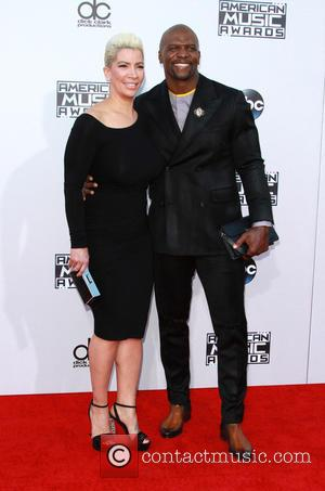 Terry Crews , Rebecca King-Crews - American Music Awards 2015 - Arrivals held at Microsoft Theatre at Microsoft Theatre, American...