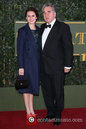 Jim Carter , Bessie Carter - The Evening Standard Theatre Awards held at the Old Vic - Arrivals - London,...
