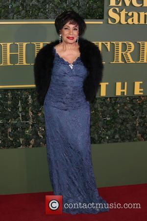Dame Shirley Bassey - The Evening Standard Theatre Awards held at the Old Vic - Arrivals - London, United Kingdom...