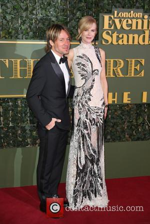 Keith Urban , Nicole Kidman - The Evening Standard Theatre Awards held at the Old Vic - Arrivals - London,...