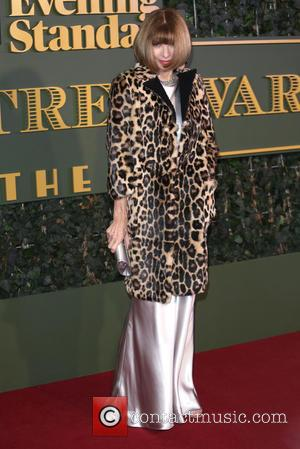 Anna Wintour - The Evening Standard Theatre Awards held at the Old Vic - Arrivals - London, United Kingdom -...