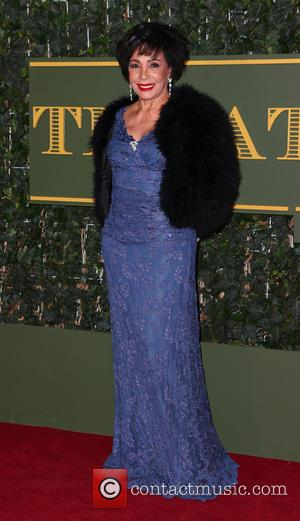 Shirley Bassey - Evening Standard Theatre Awards at the Old Vic - London, United Kingdom - Sunday 22nd November 2015