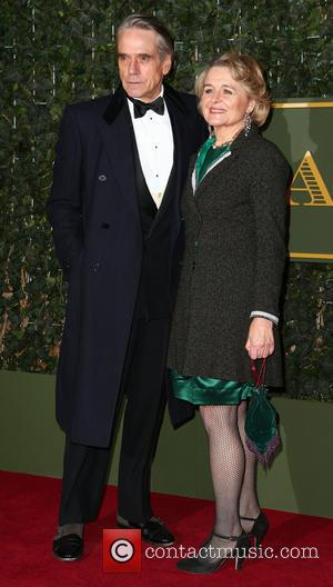 Jeremy Irons , Sinead Cusack - Evening Standard Theatre Awards at the Old Vic - London, United Kingdom - Sunday...