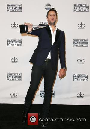 Luke Bryan - 2015 AMERICAN MUSIC AWARDS_Press Room at Microsoft Theater - Los Angeles, California, United States - Sunday 22nd...