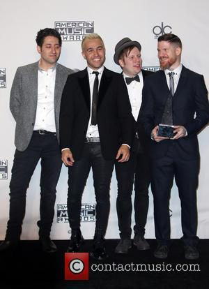 Joe Trohman, Pete Wentz, Patrick Stump, Andy Hurley and Of Fall Out Boy