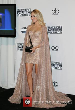 Carrie Underwood - 2015 AMERICAN MUSIC AWARDS_Press Room at Microsoft Theater - Los Angeles, California, United States - Sunday 22nd...