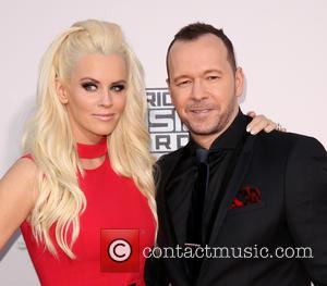 Jenny McCarthy , Donnie Wahlberg - Celebrities attend 2015 American Music Awards at Microsoft Theater. at Microsoft Theater, American Music...