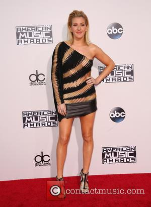 Ellie Goulding - Celebrities attend 2015 American Music Awards at Microsoft Theater. at Microsoft Theater, American Music Awards - Los...