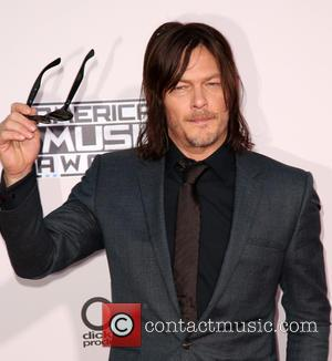 Norman Reedus - Celebrities attend 2015 American Music Awards at Microsoft Theater. at Microsoft Theater, American Music Awards - Los...