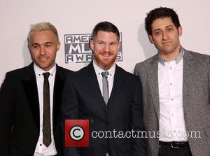 Pete Wentz, Andy Hurley, Joe Trohman and Fall Out Boy