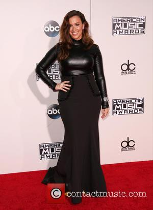 Alanis Morissette - Celebrities attend 2015 American Music Awards at Microsoft Theater. at Microsoft Theater, American Music Awards - Los...