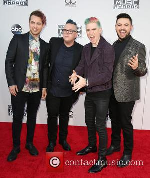 Kevin Ray, Sean Waugaman, Nicholas Petricca, Eli Maiman and Walk The Moon